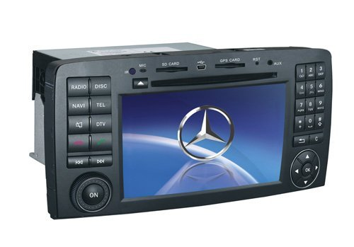 Benz R300 car dvd player with gps navigation radio system
