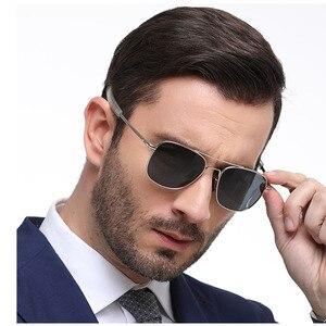 Image 3 - Солнцезащитные очки Мужские, армейские, поляризационные, сплав, для вождения, 57 мм, 52 мм