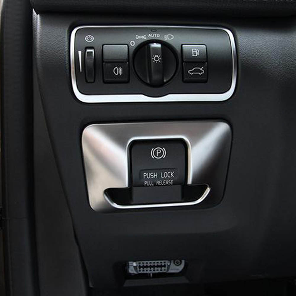 Interior Accessories For Volvo Xc V S Center Console Dashboard Electronic Handbrake Button Decorative Cover Trim