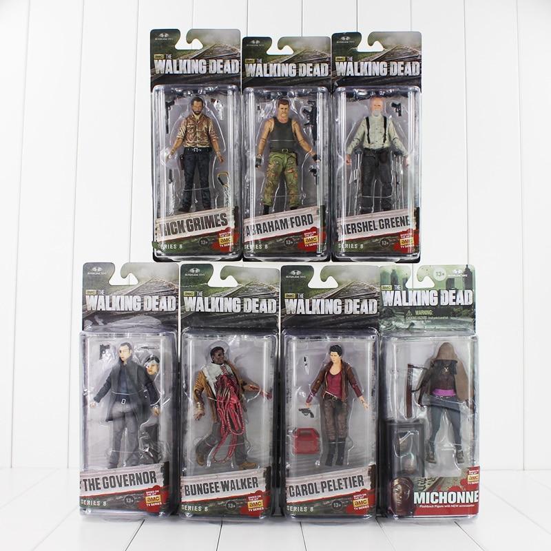AMC Series Frank NECA The Walking Dead Abraham Ford / Bungee Walker / Rick Grimes / The Governor / Michonne PVC Action Figure мегафон amc se116 продам киев