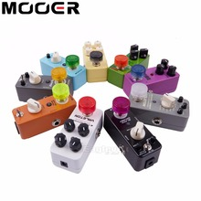 10 pcs Footswitch Topper Random Color Mix Mooer Candy Colorful Plastic Bumpers Footswitch Protector For Guitar Effect Pedal
