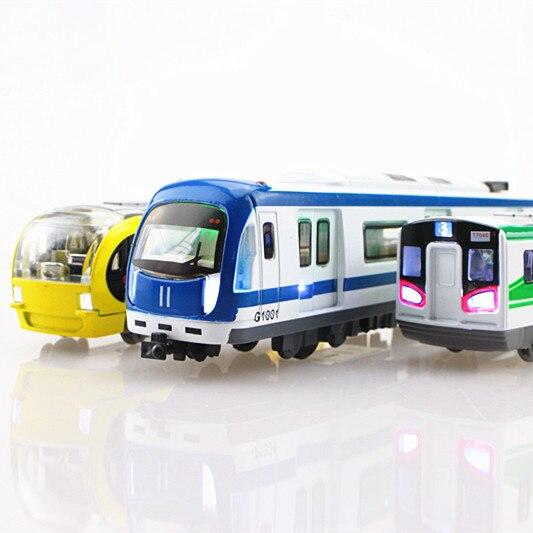 Urban Rail Train Subway Train Toy Alloy Car Model Harmony Car