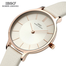 2019 IBSO Ladies Luxury Watch 8 MM Ultra Thin Watch Genuine
