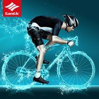 Santic Vélo Для мужчин Pro Team Тур де Франс велокостюм импортировано из Италии ткань MTB велосипед Джерси Ropa Ciclismo
