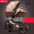 2016 new collapsible baby stroller, 0--36 months stroller 8 color choices Inflatable Natural Rubber Wheels Four Wheel