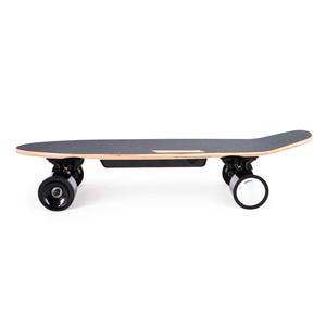 Image 2 - 도착 전기 스케이트 보드 성인 및 청소년을위한 무선 핸드 헬드 원격 제어와 휴대용 전기 스케이트 보드