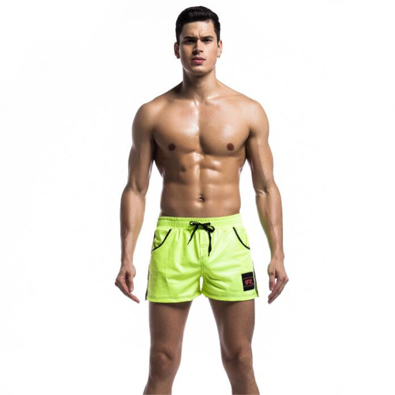 Topdudes.com - New European Style Hot Men's Faux Leather Comfortable and Breathable Shorts US Size