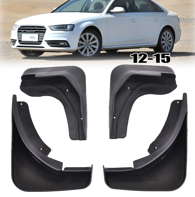 mud flaps for audi a4 b8 2012 2015 facelifted mudflaps splash guards rh aliexpress com 2008 Audi A4 Manual 2009 Audi A4 Wood Trim