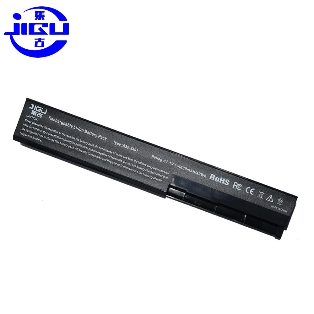 JIGU A32-X401 Laptop Battery For ASUS X301 X301A X401 X401A X501A A31-X401 A41-X401 A42-X401 аккумулятор 4parts lpb x401 для asus x301 x401 x501 series 10 8v 4400mah аналог pn a31 x401 a32 x401 a41 x401 a42 x401
