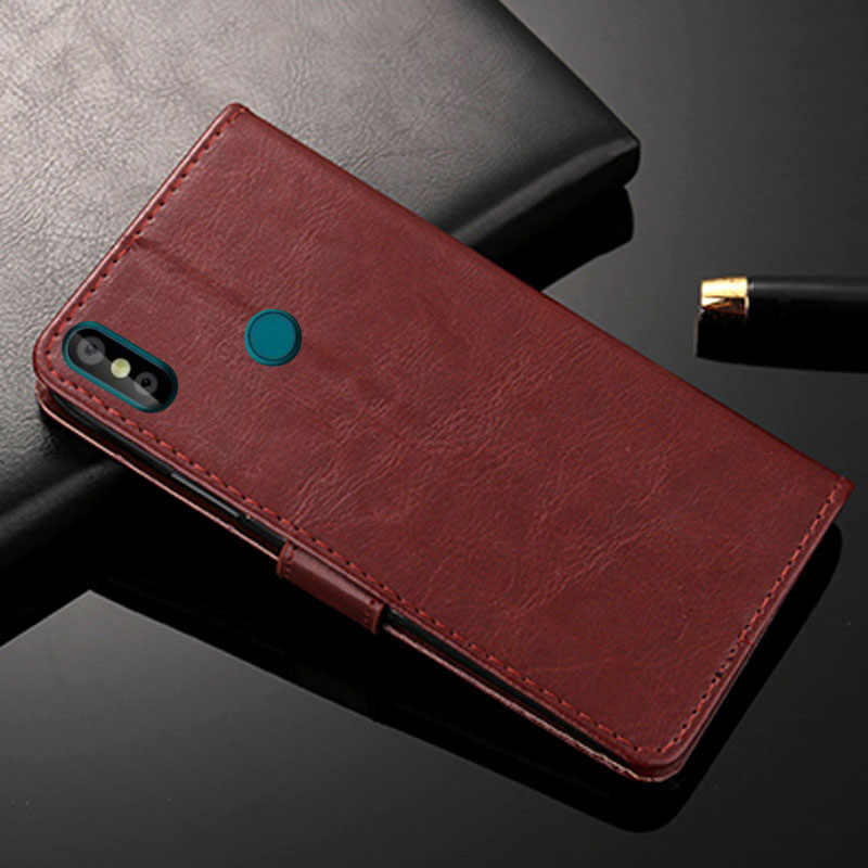 YSW For Doogee Y8 Case Wallet Case with Card Slot and Kickstand PU Leather  Flip Flap Cases