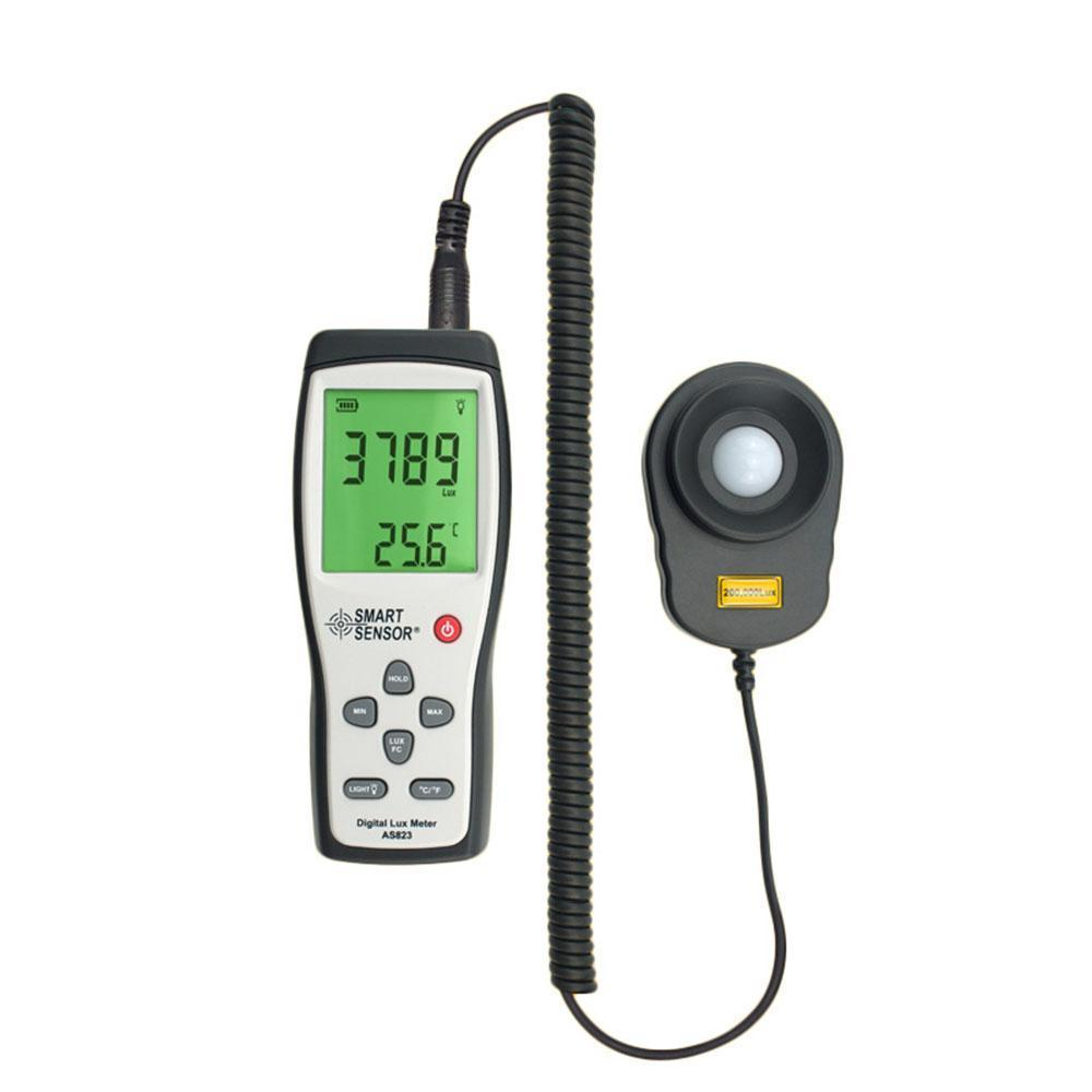 lux illuminance flow meter light Digital Smart Sensor 1~200.000lux 2 1 lcd portable 3 mode digital illuminance light meter 100000lux 1lux 1 x 6f22