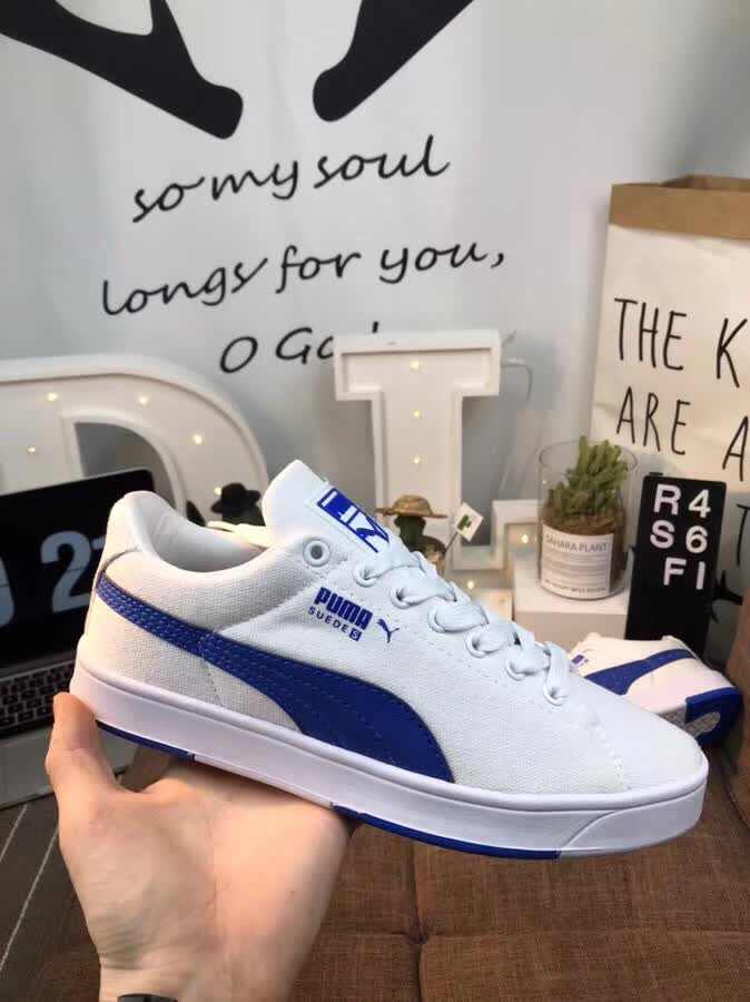new concept 1ac18 95f57 ... Original 2018 New Arrival PUMA Cotton white shoes men and Womens  Sneakers Badminton Shoes size 36 ...