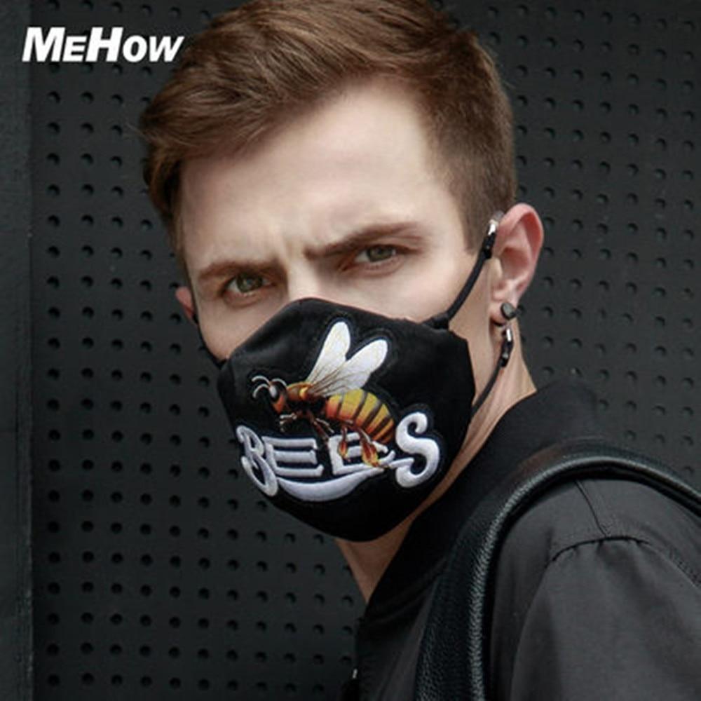 masque anti pollution motif