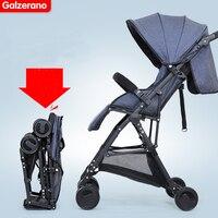 Детская коляска свет портативный четыре колеса автомобилей Зонт подвеска складной коляски