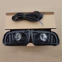 Per Mazda 6 M6 06-10 nebbia gruppo lampada H3 alogena Wire cablaggio paraurti Anteriore luce con Filo di cablaggio 2 pcs