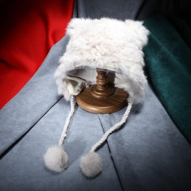 Сладкая лолита Kitty Cat Уши Зима furry бал Симпатичные Hat Кот Уха Hat Косплей Hat Мяу