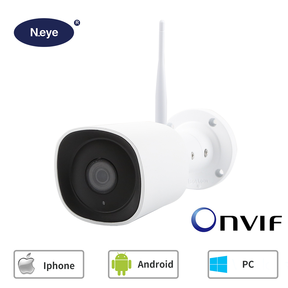Outdoor Security Camera 1080p Cloud Cam IP Waterproof Night Vision Surveillance System with Two Way Audio onvif