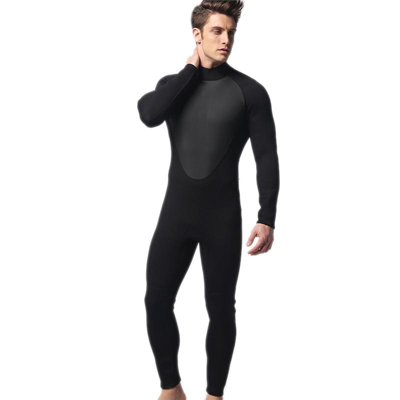 ФОТО High Quality new 3mm cool black diving triathlon neoprene wetsuit for swimming surf men Scuba Equipment Split Suits Spearfishing