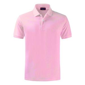Image 3 - 100% Katoenen Top Kwaliteit 2020 Zomer Nieuwe Mannen Polo Shirts Plus Size XS 4XL Effen Kleur Korte Mouw Polo S Homme revers Mannelijke Tops