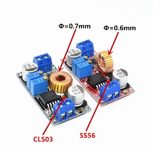 Original XL4015 E1 5A DC to DC CC CV Lithium Battery Step down Charging Board Led Power Converter Lithium Charger Module