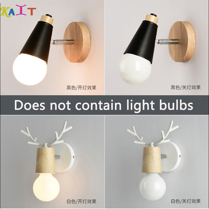 Modern Led Wood Wall Lamp Iron Metal Wall Light Fixtures Living Bedroom Simple Wall Lights Vintag Indoor Lighting LED SconceModern Led Wood Wall Lamp Iron Metal Wall Light Fixtures Living Bedroom Simple Wall Lights Vintag Indoor Lighting LED Sconce