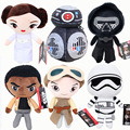 Star Wars Plush Doll Toys Darth Vader Kylo Ren Plush BB8 BB-9E BB-8 BB9E R2d2 R2-d2 Pelucia Leia Rey Storm trooper Stuffed Toys