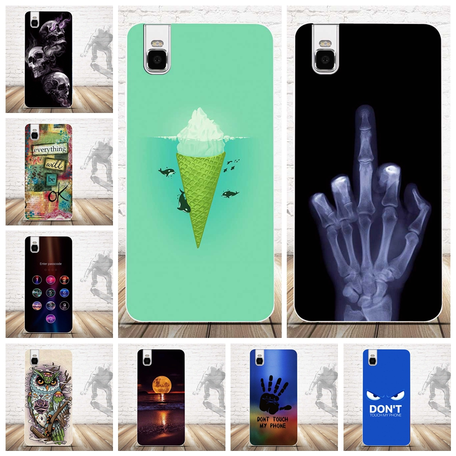Luxury 3D Painting Cover Case for Huawei honor 7i Cases Back Silicone TPU Cover for Huawei Shot X Moblie Phone Shell Covers Bag