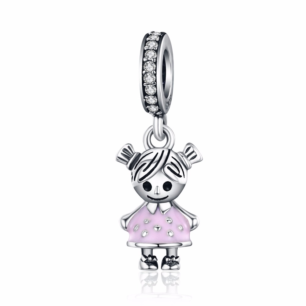 Beads & Jewelry Making Jewelry & Accessories 2018 Fashion 925 Sterling Silver Like Balloon Dangle Swing Charms Bead Fit Original Bracelet Necklace Pandora Authentic Jewelry