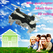 Mini Quadcopter Micro Pocket Drone 4CH 6Axis Gyro Switchable Controller Mini quadcopter RC helicopter Kids Toys