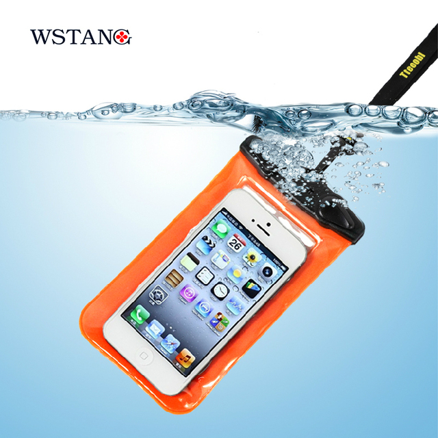 W S Tang 5.5 waterproof mobile phones High quality PVC diving package unisex Multi-color selection waterproof set of diving bag