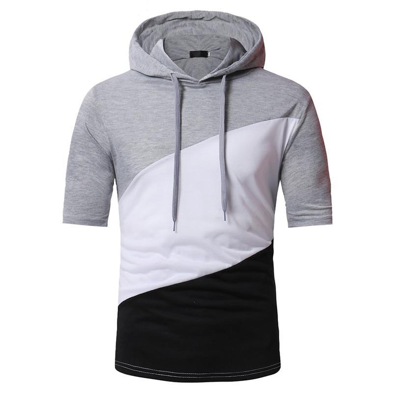 2018 fashion brand men's short-sleeved T-shirts