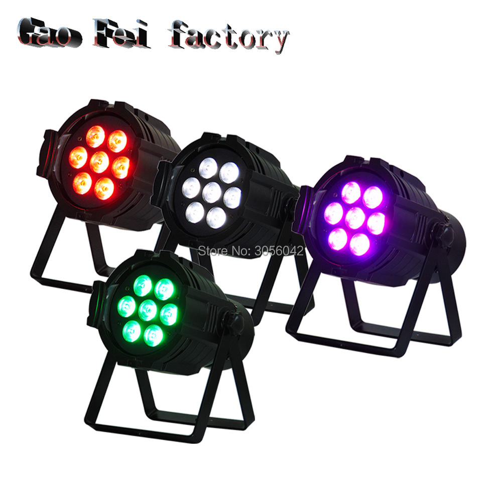 4pcs/lot 7X12W wash 4In1 RGBW LED Moving Head Light,DMX 512 Stage Party DJ PAR Lighting, for Indoor Club, Party Show dmx 512 mini moving head light rgbw led stage par light lighting strobe professional 9 14 channels party disco show