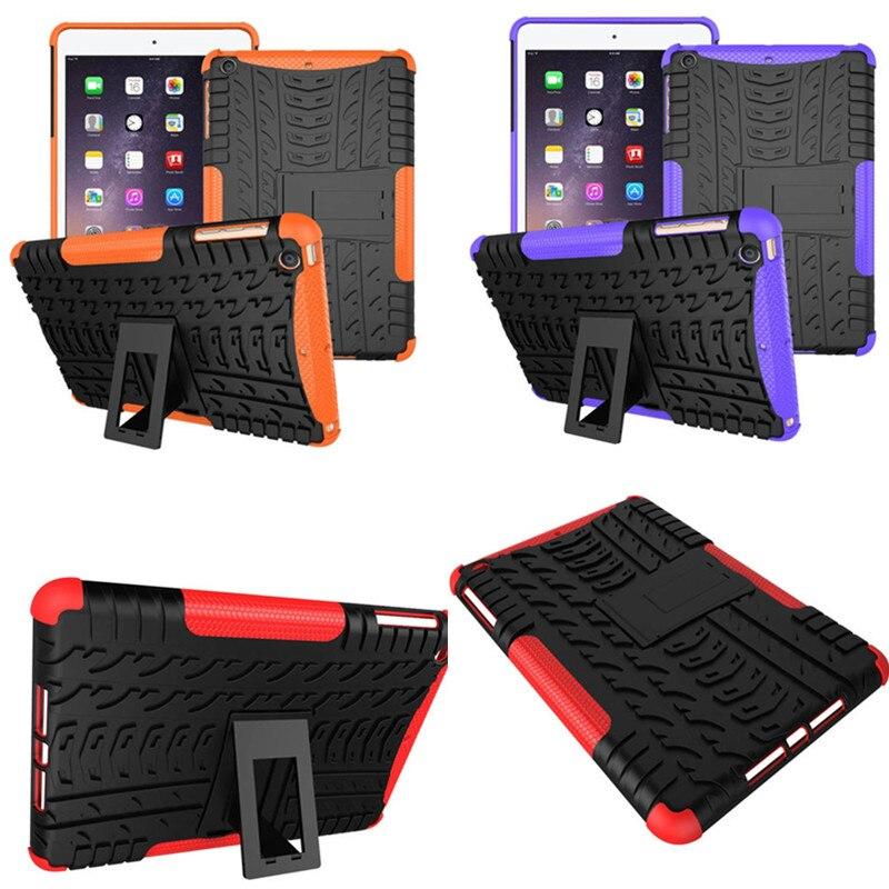 HH Luxury Ultra Thin Plastic Hard TPU PC Armor Case For Apple iPad mini 1 2 3 With Retina Display Slim Hybrid Protective Shell