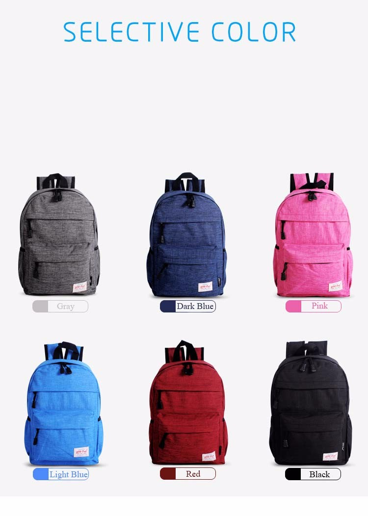 de viagem multifuncional mochilas saco de escola para adolescente unisex