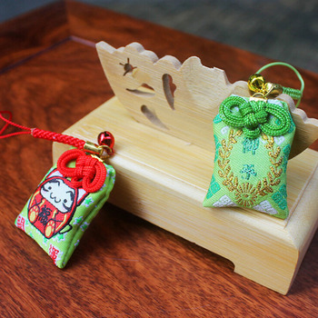 Japan Traditional Special Fortune Bag Witch Luck Fortune-telling Supplies Storage Bag for Pray Luck Happinees Money Long life image
