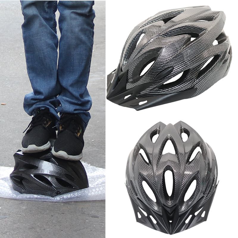 Cycling Helmet Integrally-molded Super Light Mtb Road Adults Bicycle Helmet Casco Ciclismo Capacete EPS+PC Adjustable 56-60CM