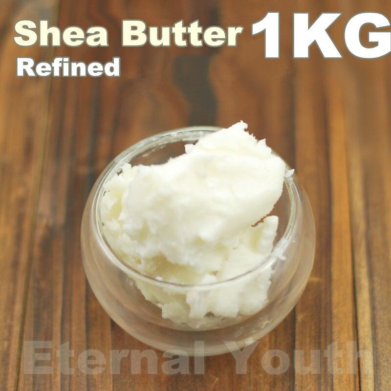 ORGANIC Refined Shea Butter 1000g 1KG Exquisite Shea Grease Skin Care Equipment