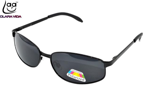 = = VIDA CLARA Custom Made Menos Prescrição Míope Óculos De Sol Polarizados dos homens Pequena moldura quadrada não-slip Pé Caso-1 a-6