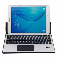 Aluminum Wireless Bluetooth Keyboard Case Cover Touchpad For Samsung Galaxy Tab E 9.6 T560 T561 T567 T567V Pro 10.1 T520 T525