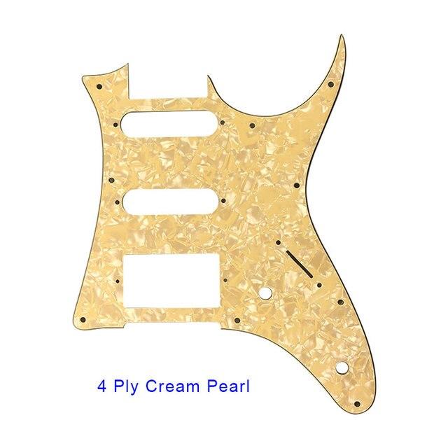 50er Pack Gold Guitar Pickguard Befestigungsschrauben für