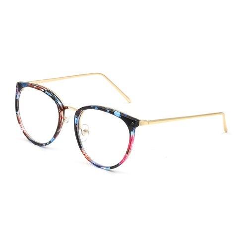 Fashion Optical Eyeglasses Frame myopia Full Rim Metal Women Spectacles Eye glasses Oculos de Grau Eyewear Prescription Eyewear Lahore