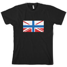 Russian Union Jack - Mens T-Shirt Russia flag 10 Colours Mans Unique Cotton Short Sleeves O-Neck T Shirt