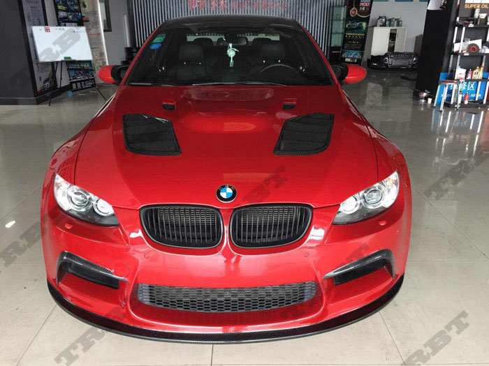 07-13 BMW 3 Series E92 E93 M3 SIB STYLE FRP Hood(3)