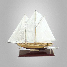 1:81 Scale Classics Sail Boat Model Benjamin W.Latham 1902 DIY Sailboat Wooden Wood Ship Model Building Kits