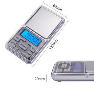 Image 3 - 50 stks/partij 0.01g 200g Digitale Wegen Pocket Sieraden Weegschaal LCD display met achtergrondverlichting balance Met doos 20% off