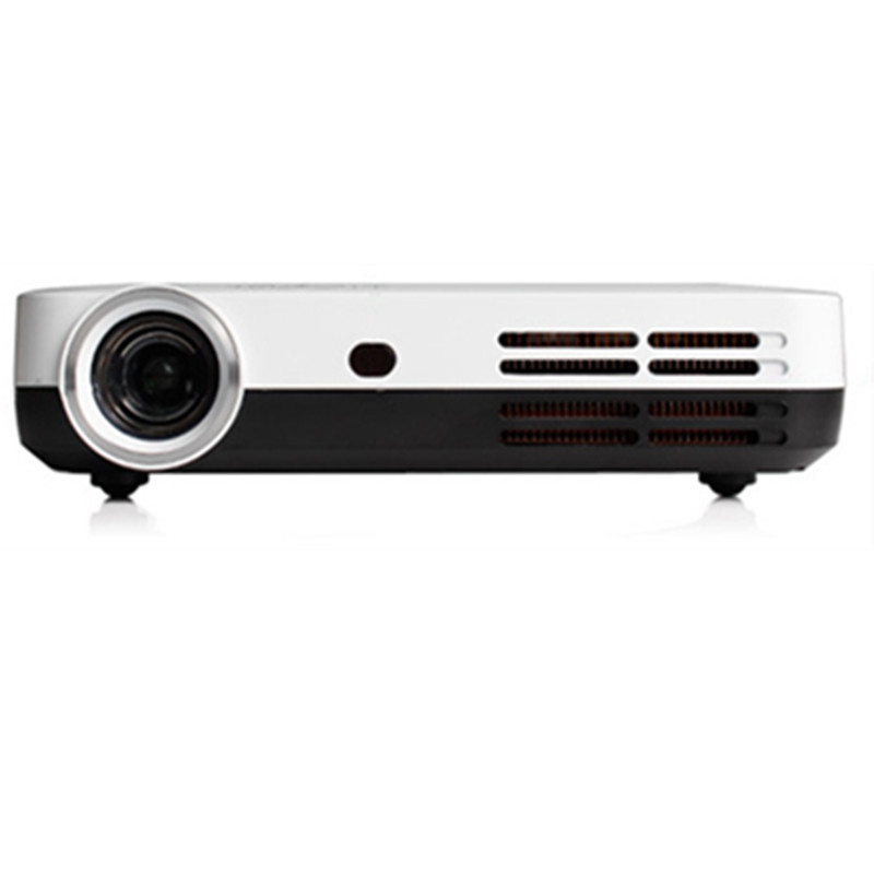 HD portable DLP mini projector 3D proyector led tv beamer Build-in battery WIFI Android Bluetooth