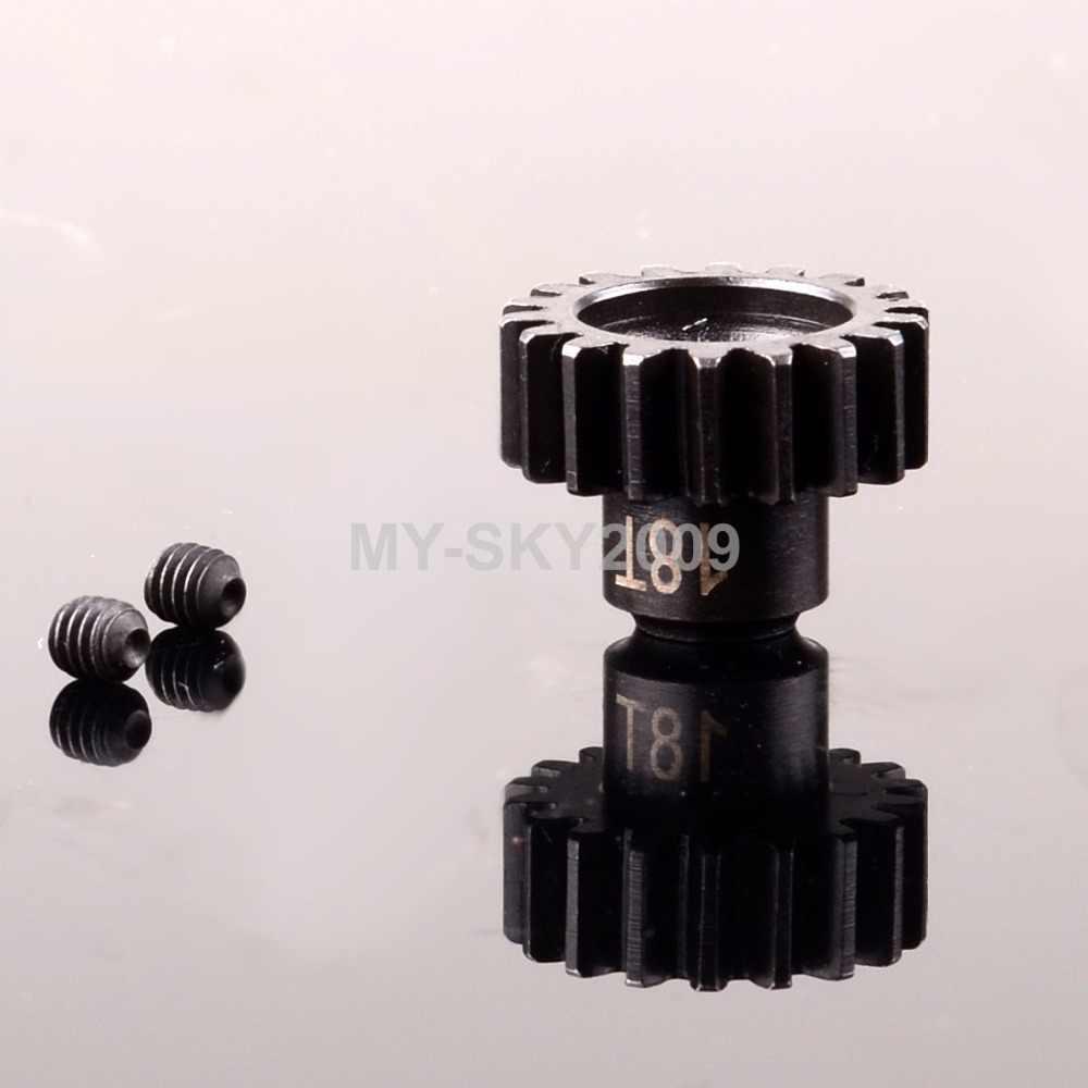 モーターピニオンギア 15T 16T 17T 18T 19T 20T 21T M1 5 ミリメートル rc トラックトラクサス X-マックス 77086-4 E-Revo 86086-4