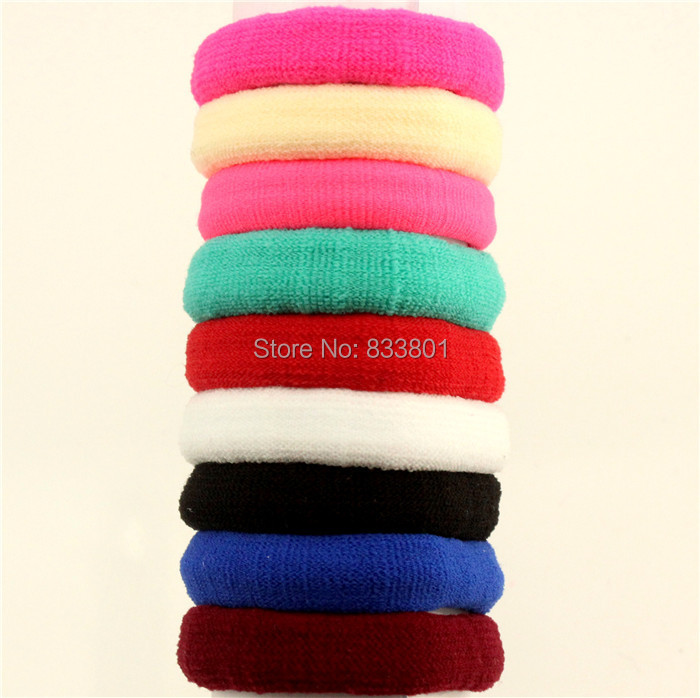 2015 New Fashion 60pcs/bag Small 30mm Candy Colored Hair Holders Rubber Bands Black Elastics Girl Women Tie Gum Free Shipping