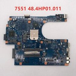 Haute qualité pour 7551 7551G carte mère d'ordinateur portable JE70-DN 48.4HP01. 011 09929-1 DDR3 100% testé