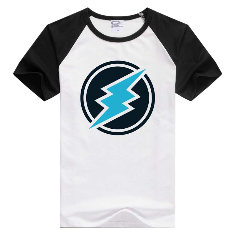 Electroneum ETN short sleeve casual Men Women T-shirt Tshirt Cool Print Tops Fashion Tees Novelty GA841